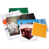 Geheftete Broschüren in unterschiedlichsten Formaten als Hoch- und Querformat oder als quadratisches Format