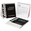 Mehrseitige Tischkalender, mit integrierter Rückenstütze (unbedruckt)