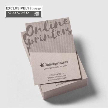 Business Industrie 1000 Visitenkarten Drucken 350g Karton