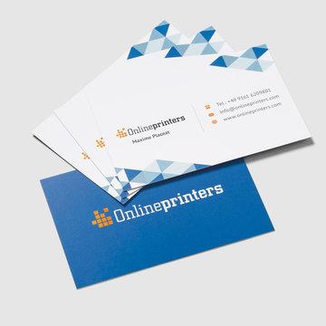 Visitenkarten Beidseitig 85x55mm Drucken Onlineprinters