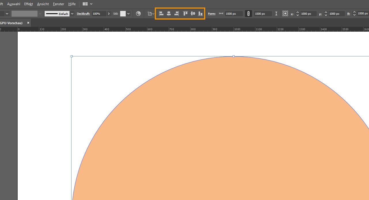 Aufkleber gestalten - Illustrator 1