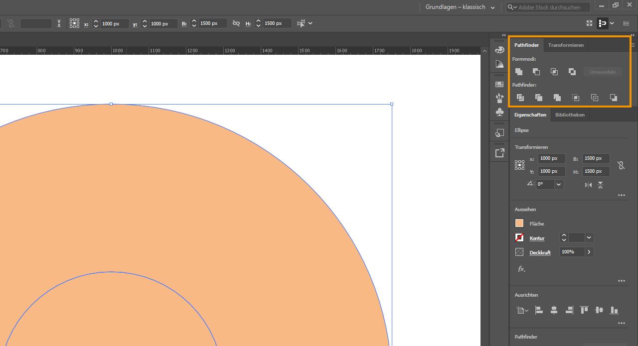 Aufkleber gestalten - Illustrator 2
